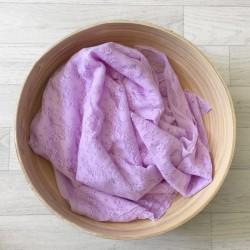 Lavande - Wrap en dentelle séance photo bébé ou maternité