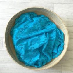 Turquoise - Wrap en dentelle séance photo bébé ou maternité