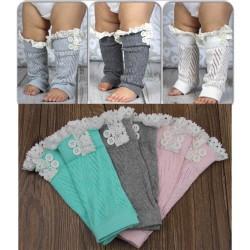 Jambières bébé en lainage fin pour accompagner vos tenues