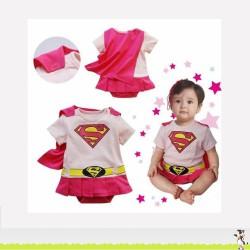 SUPERGIRL, déguisement bébé 6 à 24 mois