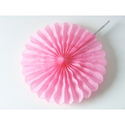 Suspension rosace rose, taille au choix