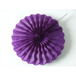 Suspension rosace violette, taille au choix