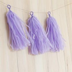 Pompon Tassel violet