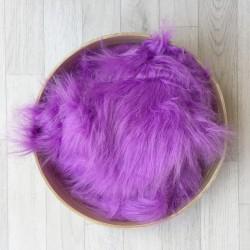 Pose bébé poils longs volatiles lavande