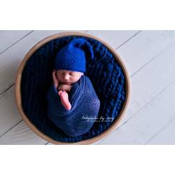 Wrap stretch bleu royal 180x80 Réf.58