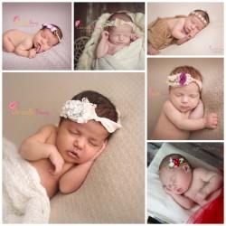 Bandeaux nouveaux nés et bébé spécial  photographie