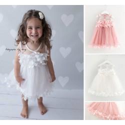 Robe habillée modèle Little Kelly, couleur au choix 6 mois à 6 ans
