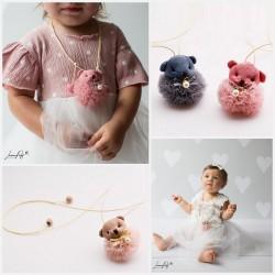 Collier petit ourson, spécial bébés et petites filles
