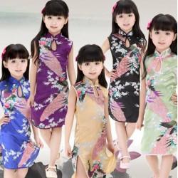 Robe chinoise 0 à 12 ans