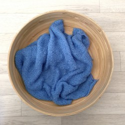 Wrap stretch bleu soutenu 160x30