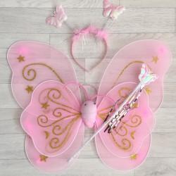 Fée Papillon étoile, modèle rose clair