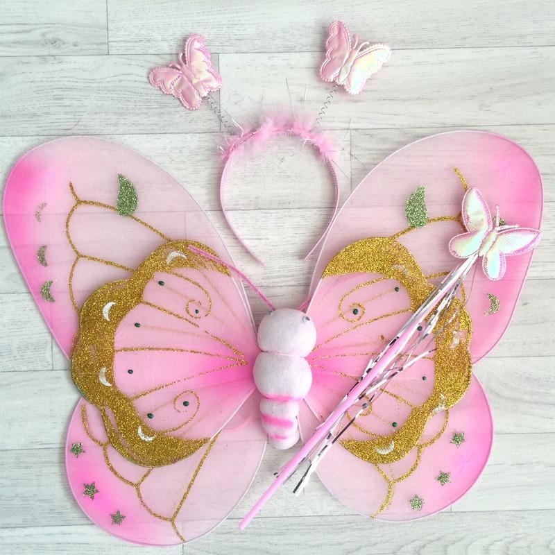 F e papillon tachet mod le rose - Modele papillon ...