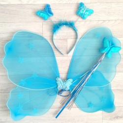 Fée Papillon étoile, modèle turquoise