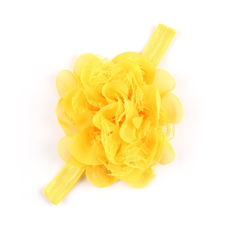 bandeau cheveux b b fille jaune. Black Bedroom Furniture Sets. Home Design Ideas