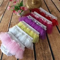 Jupe culotte bloomer modèle tulle fushia