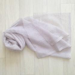 Wrap gauze tissu dentellé 160x50 cm, modèle gris clair
