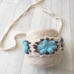 Bandeaux large au crochet