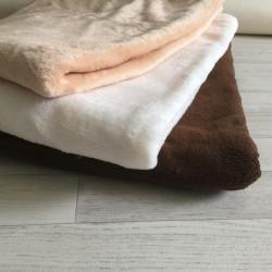 Grand fond de tissu 150X110 cm modèle peau de pêche