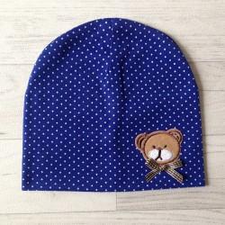 Bonnet nounours 100% coton, Naissance - 1 an