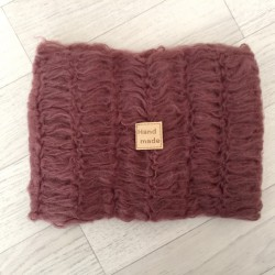 Wraps mohair moyenne maille 40x75 cm