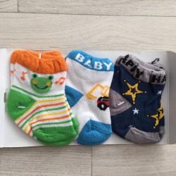 Lot de 3 paires de chaussettes naissance à 3 mois