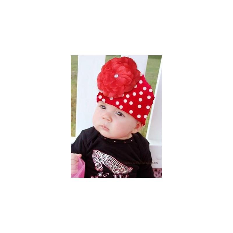 Bonnet fleur bébé enfant en coton, naissance à 12 ans 7405038afb1