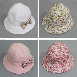 Chapeaux de soleil réversible 6/12 mois, modèle au choix