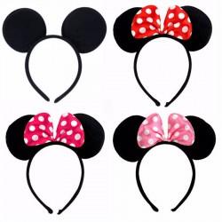 Serre tête oreilles de Minnie, 4 modèles au choix