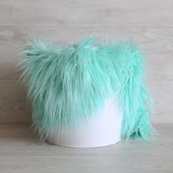 Pose bébé poils longs volatiles mint
