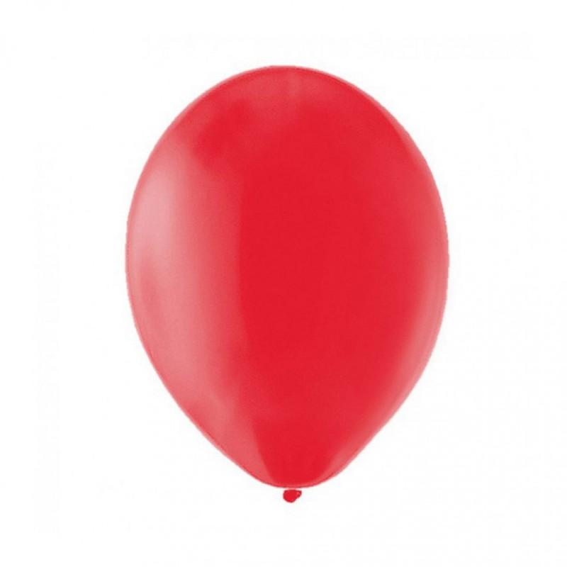 Lot de 10 ballons rouges