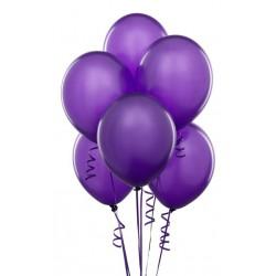 Lot de 10 ballons violets