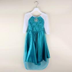 Déguisement robe Reine des neiges 3 à 10 ans
