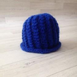 Bonnet mohair modèle petit pêcheur, couleurs au choix