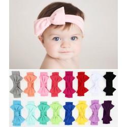 Bandeau coton noeud, couleur au choix