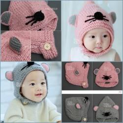 Bonnet cagoule, couleur au choix