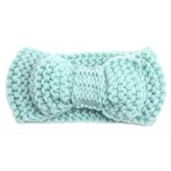 Bandeaux en laine chaude Little bow, 0 à 3 ans