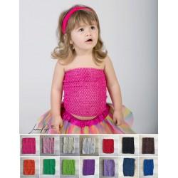 Top crochet moyen  modèle 24 cm