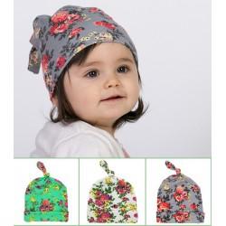 Bonnet en coton print liberty, 0 à 1 an modèle au choix