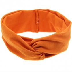 Bandeau Twist en jersey mat , couleur au choix