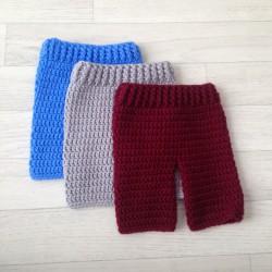 Lot de 3 pantalons de photographie pour garçon, taille naissance