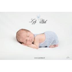 Body tricot torsade nouveaux nés, couleur au choix