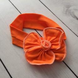 Bandeau coton grosse fleur, collection Baby amour