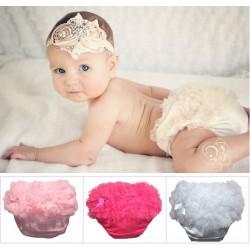 Culotte cache couche bébé 0 à 2 ans, modèle Little diam's