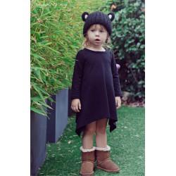 Robe tunique coton, modèle Adélaïde 1 à 5 ans