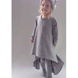 Robe tunique coton, modèle Adélaïde
