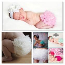 Culotte cache couche bébé 0 à 2 ans, modèle Little froufrou