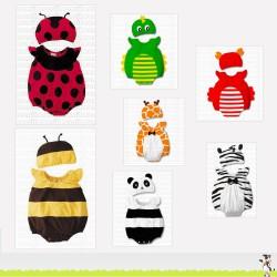 Déguisements animaux : coccinelle, abeille ...
