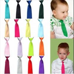 Cravates unies enfants 1 à 10 ans