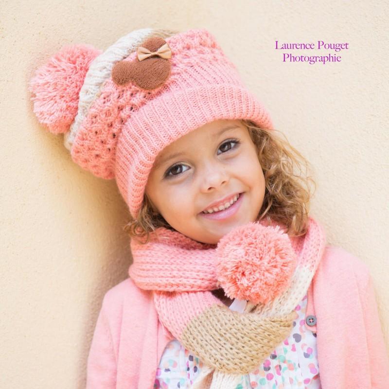 Set bonnet et écharpe Minnie, 1 à 6 ans a11d86405b9