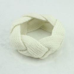 Bandeaux laine, modéle tressé 3 à 10 ans